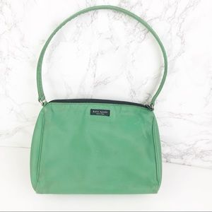 Kate Spade Vintage Sea Green Nylon Shoulder Bag